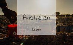 Verpflegungskosten Australien