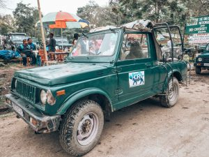 Mit dem Jeep durch den Kaziranga National Park
